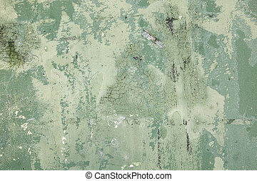 Green Grunge - A green grunge texture with scratches,...