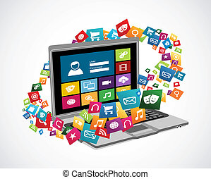 Online social media applications - Cloud computing web...
