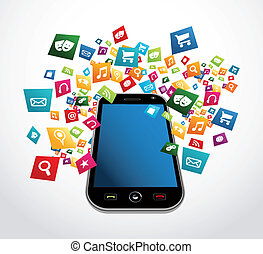 Smartphone mobile applications - Cloud computing download...