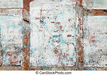 Old Paint Texture - Thick paint and paster slowly peeling...