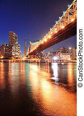 Queensboro Bridge and Manhattan