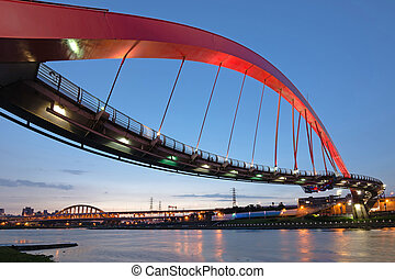 Taipei landmark bridge - Landmark of Taipei, the famous...