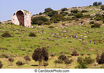 Bet Guvrin National Park Israel - BET GUVRIN, ISR - JAN 02:...