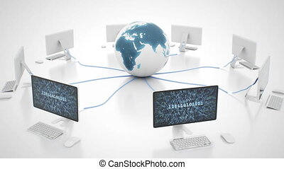 Plug to network of World Wide Web