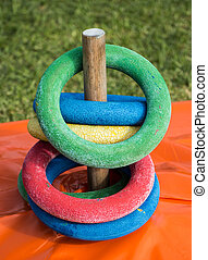 Ring Peg Game - Wonderful but simple game just need rings or...