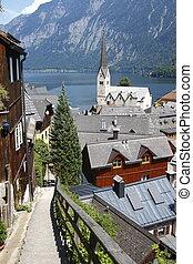 Austria : the village - Austria : view on the small...