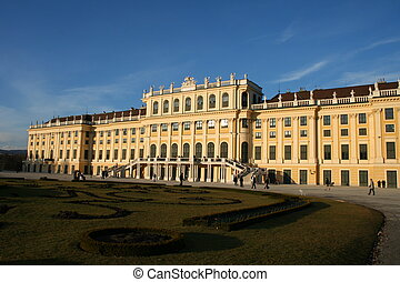 palace Schönbrunn - this is the beautiful palace...