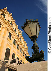 beautiful palace of Schönbrunn - this is the beautiful...
