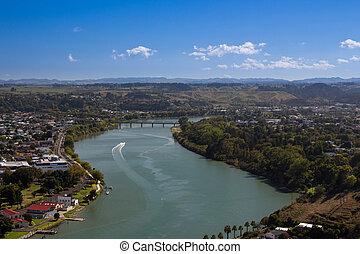 Whanganui River - Whanganui river flows through the city.