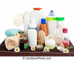 Care and bathroom products - care products and bathroom...