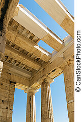 Propylaea of the Athenian Acropolis - Propylaea of the...