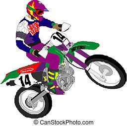 Motocykl, Biegacz