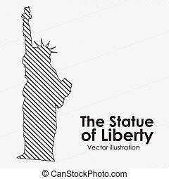 the estatue of liberty