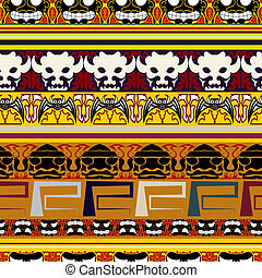 Traditional Indian pattern