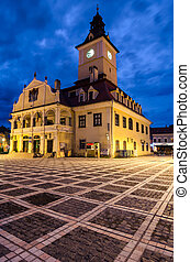 Brasov Council Square, Brasov landmark - Council square is...