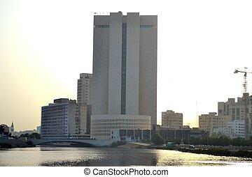 Jeddah skyscraper in downtown
