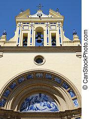 basílica, patrocinio, sevilla, españa