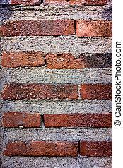 Bricks - A wall with alot of bricks
