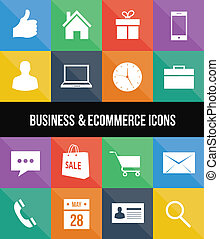stylish colorful business and ecomm