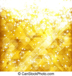 Stars golden background and place for your text , vector,...