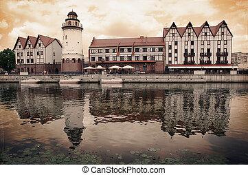Fish Village. Kaliningrad. Russia - Fish Village in...