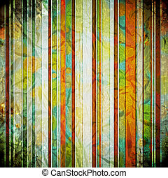 Abstract crumpled retro background. Vector Illustration.