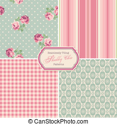 Seamlessly tiling - seamlessly tiling shabby chic patterns...