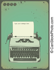 Vintage writing background - vintage writing background with...