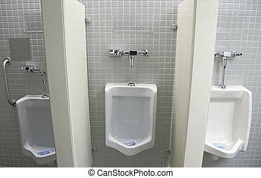 Interior Design of Men's Toilet