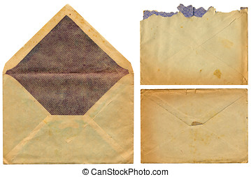Vintage envelopes - three vintage envelopes of the 1930s...