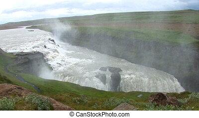 Iceland - Golden Falls - Iceland - Golden Circle - Gullfoss...