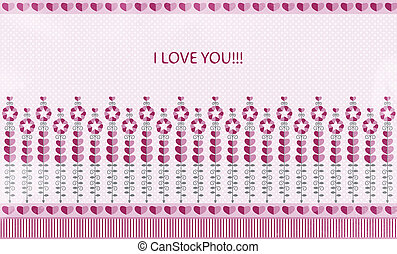 congratulation for you, I love you! Valentine\\\'s Day