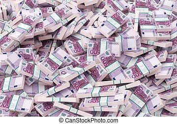 money background (500 euro version)
