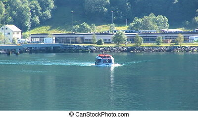 Norway - Hellesylt - Travel destination for cruise ships