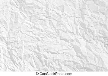 Wrinkled paper background texture
