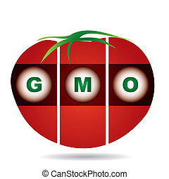 genetically modifies plants - agricultural concept -...