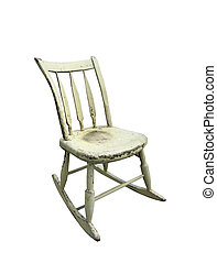small rocking chair - old small rocking chair
