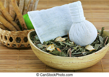 Traditional Thai Herbal Steam - Aromatic Herbal Steam:...