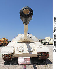 Tank Joseph Stalin - 3 in Israeli Museum of Armored Corps