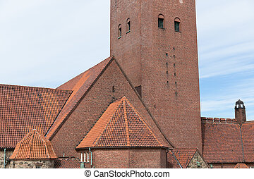 Masthuggskyrkan church at Goteborg in Sweden -...