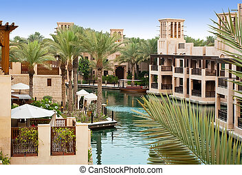 The old district of Dubai, Madinat Jumeirah
