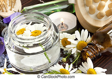 Camomile flowers essence for spa - chamomile flowers essence...