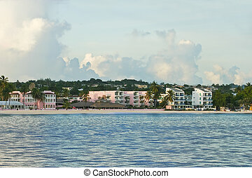 Bridgetown coastline - barbados south