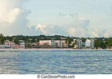 Bridgetown coastline - barbados south