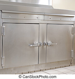 Commercial oven - Oven in a commercial kitchen