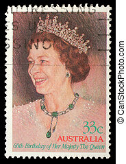 AUSTRALIA - CIRCA 1986: A stamp printed in Australia showing...