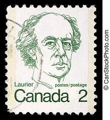 CANADA - CIRCA 1972: A stamp printed in Canada shows a...