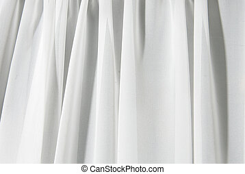 white drape background - abstract white texture of drapery...