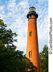 Currituck Beach Lighthouse In Carolla, NC - The Currituck...