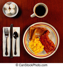 Hearty Breakfast - Picture of Hearty Breakfast